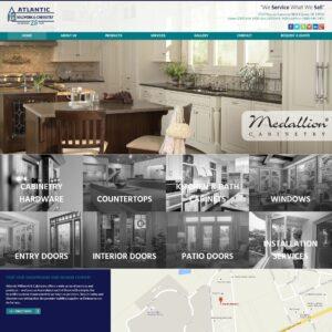Atlantic Millwork & Cabinetry website
