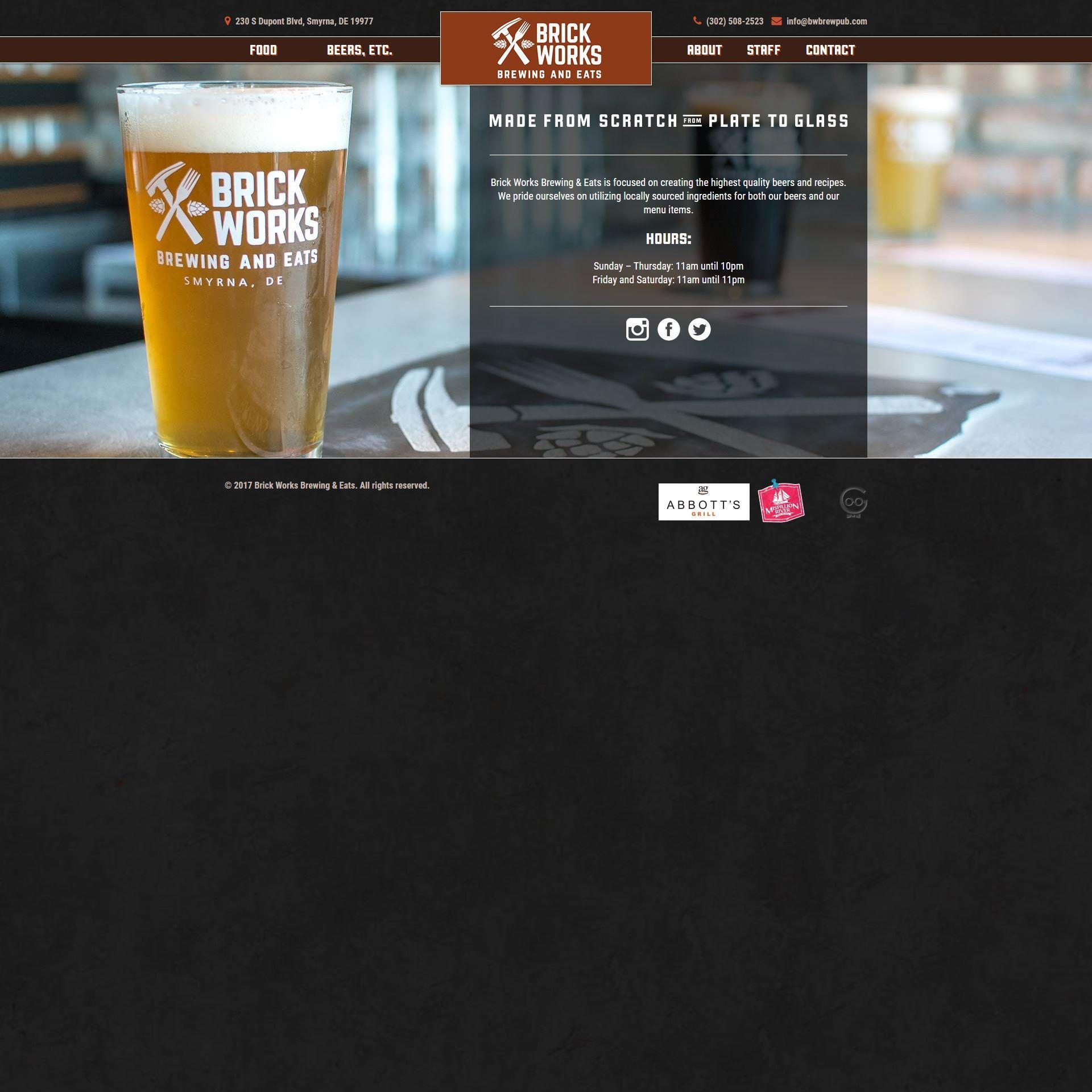 Brick Works website