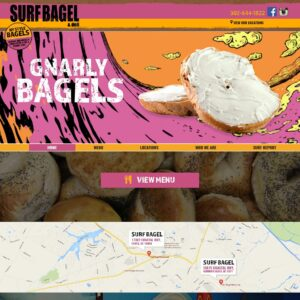 Surf Bagel websites
