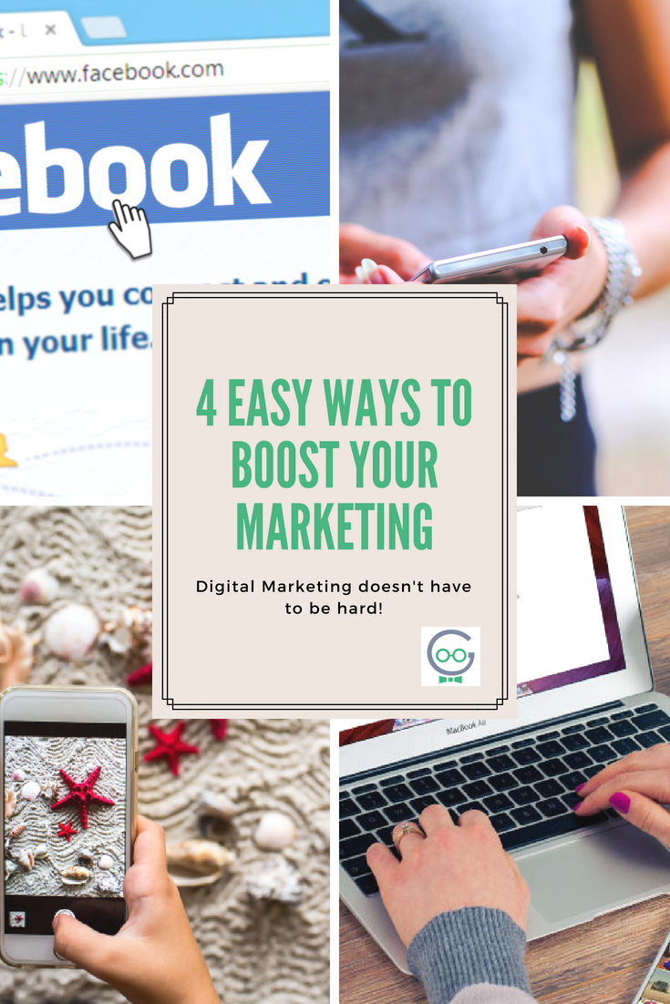 4 easy ways to boost your marketing