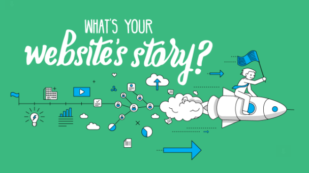 What's your Website's story?