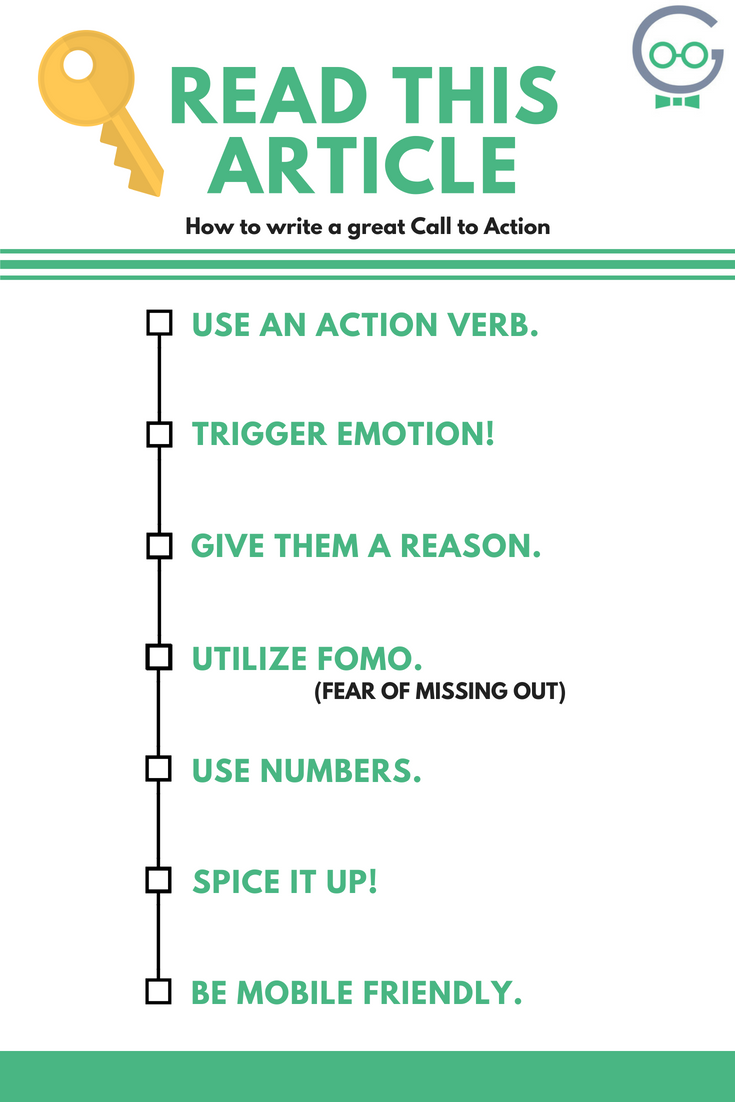 How to write a great call to action
