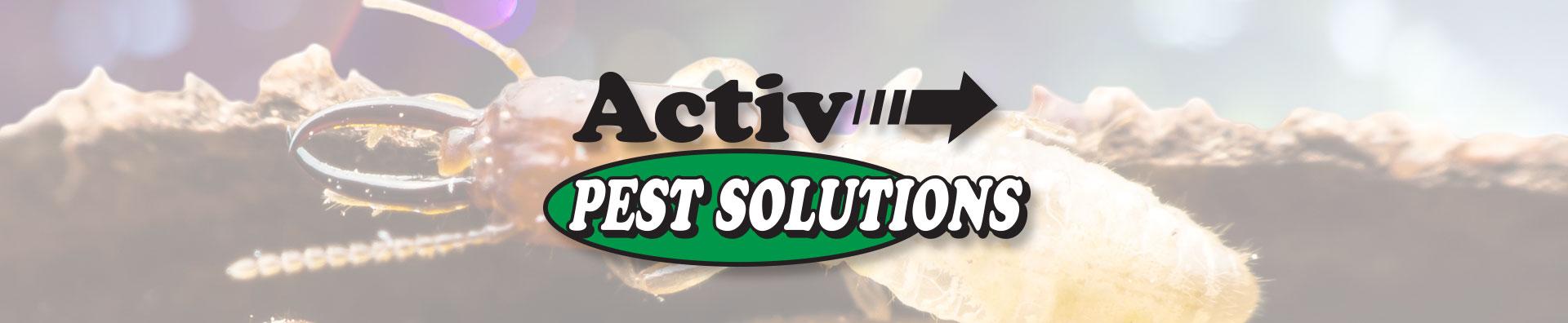 Activ Pest Solutions banner