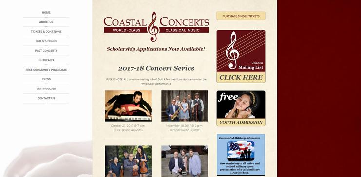 Coastal Concerts