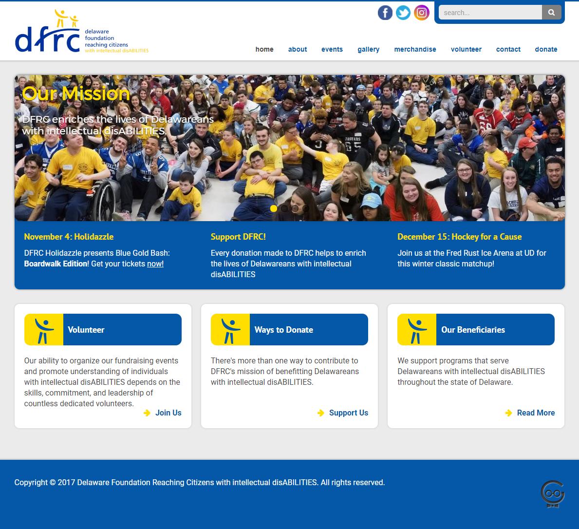 DFRC website