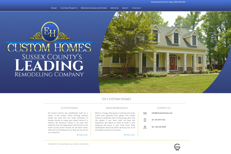 EH Custom Homes