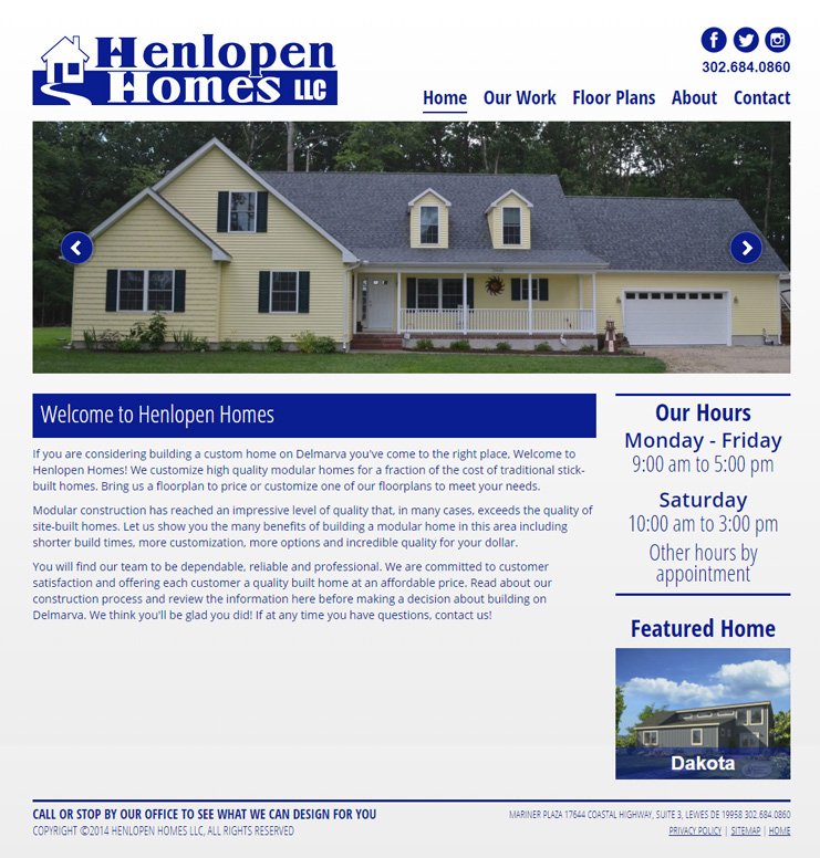 Henlopen Homes