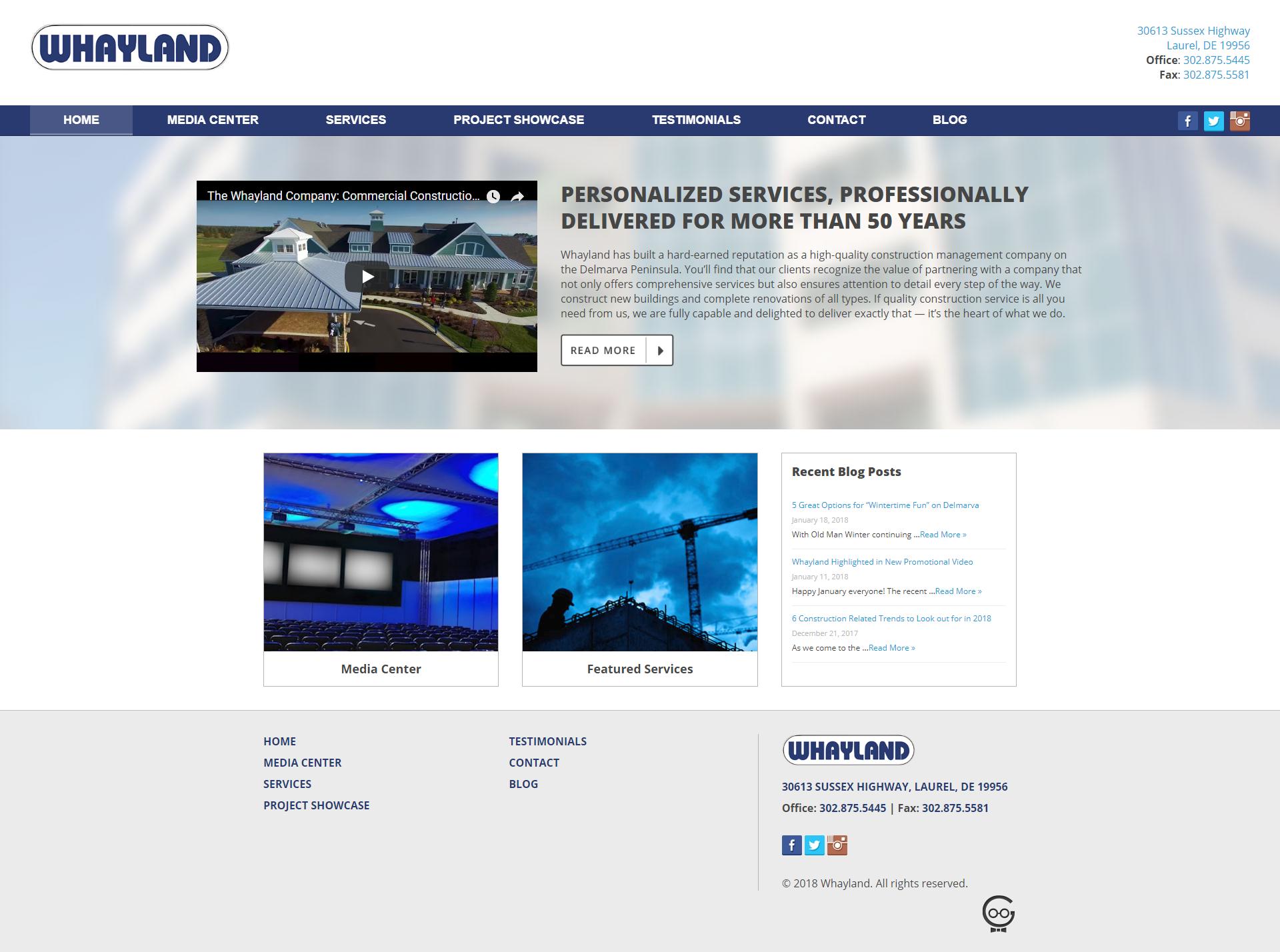 Whayland Company