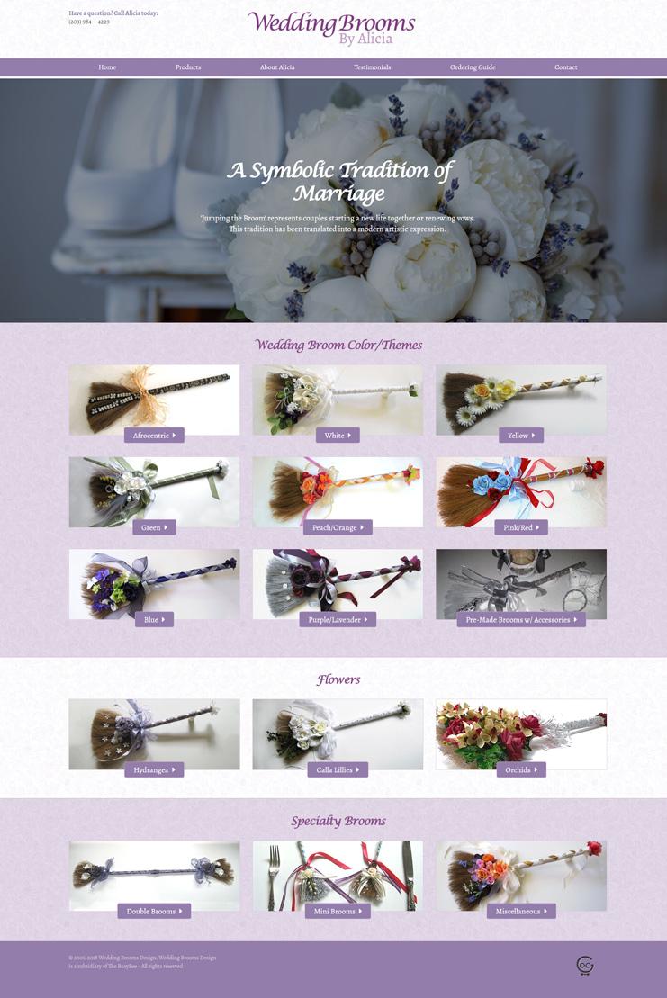 Wedding Broom Designs