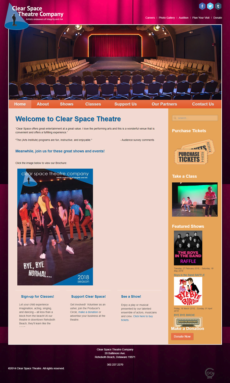 Clear Space Theatre Company