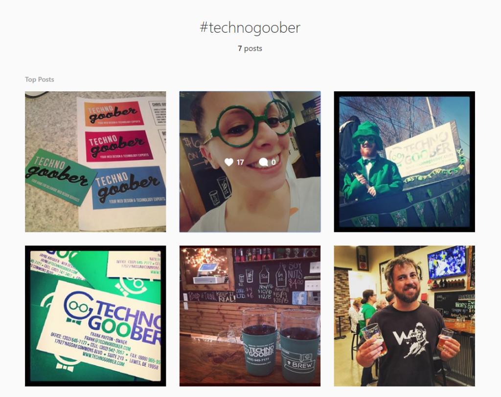 Instagram result for #TechnoGoober