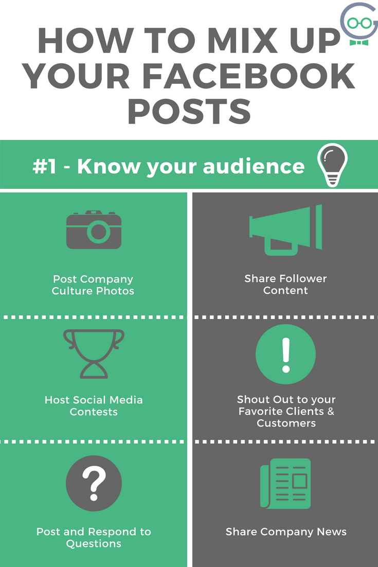 How to mix up your Facebook Posts