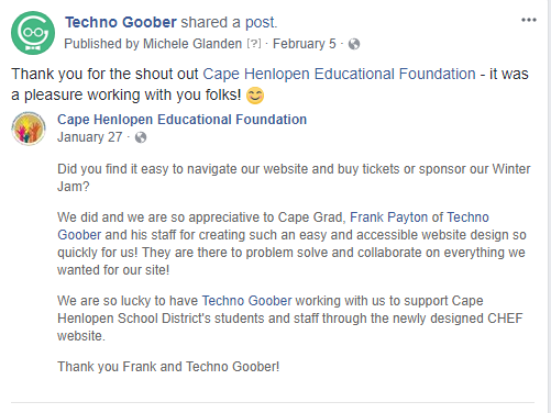 Thank You to Cape Henlopen Educational Foundation