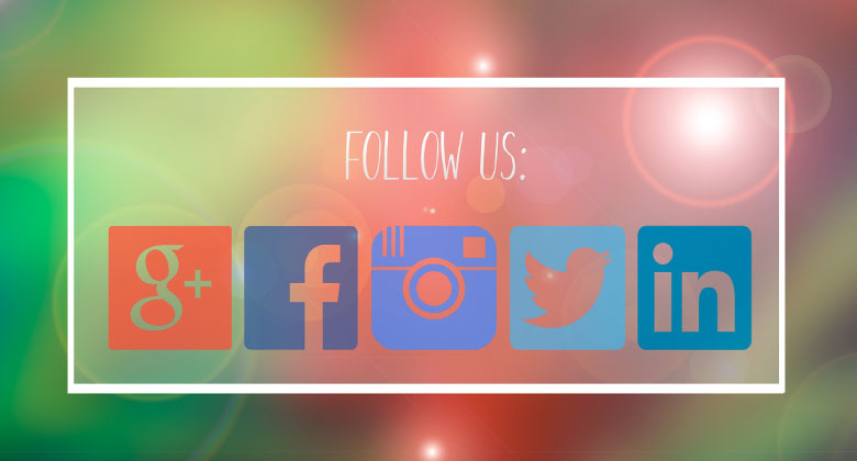 Follow us header