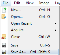 File save as image