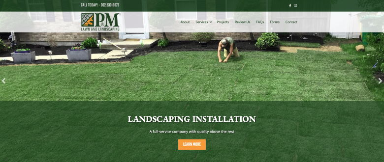 PM Lawn and Landscaping Case Study - 1