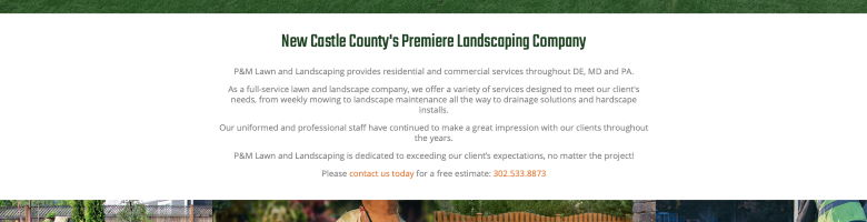 PM Lawn and Landscaping Case Study - 3