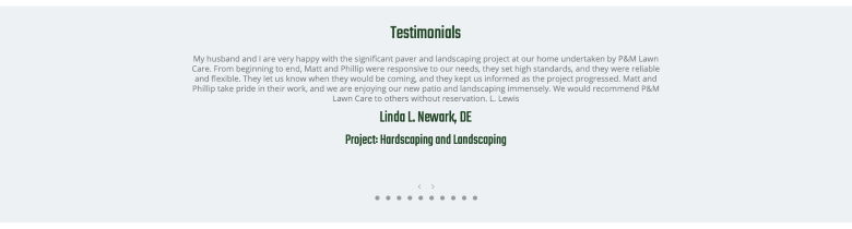 PM Lawn and Landscaping Case Study - 4
